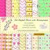 Kit Digital Flores com Monograma grátis