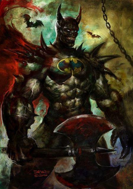 Batman versão bárbaro abissal