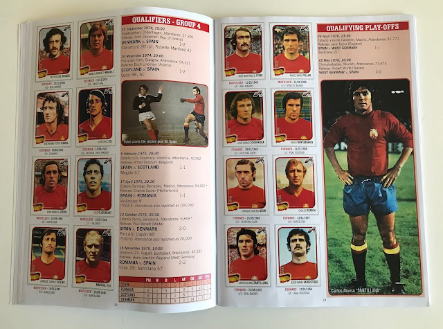 Figurine Spagna Euro 76