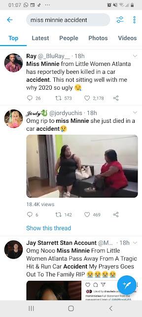 miss minnie dead