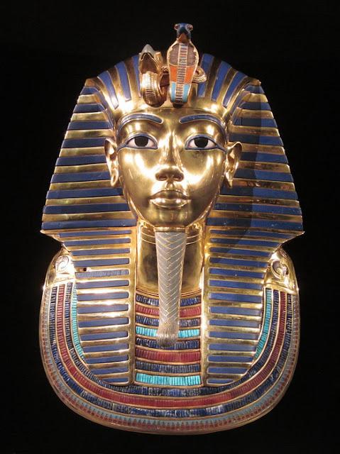 A máscara de Tutancâmon