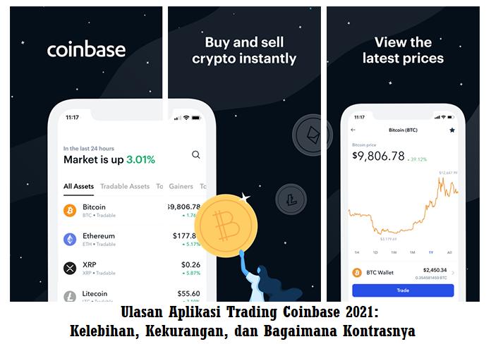 Ulasan Aplikasi Trading Coinbase 2021: Kelebihan, Kekurangan, dan Bagaimana Kontrasnya