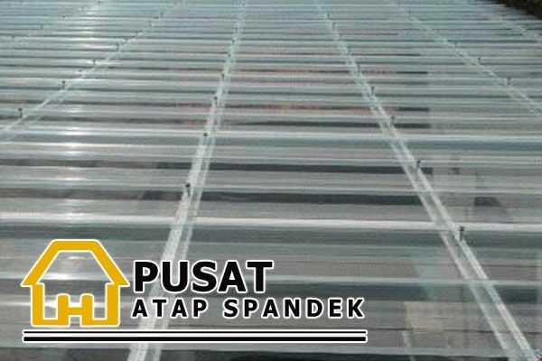 Harga Spandek Bening Transparan, Harga Atap Spandek Bening Transparan, Harga Atap Spandek fiber Bening Transparan Per Meter 2019