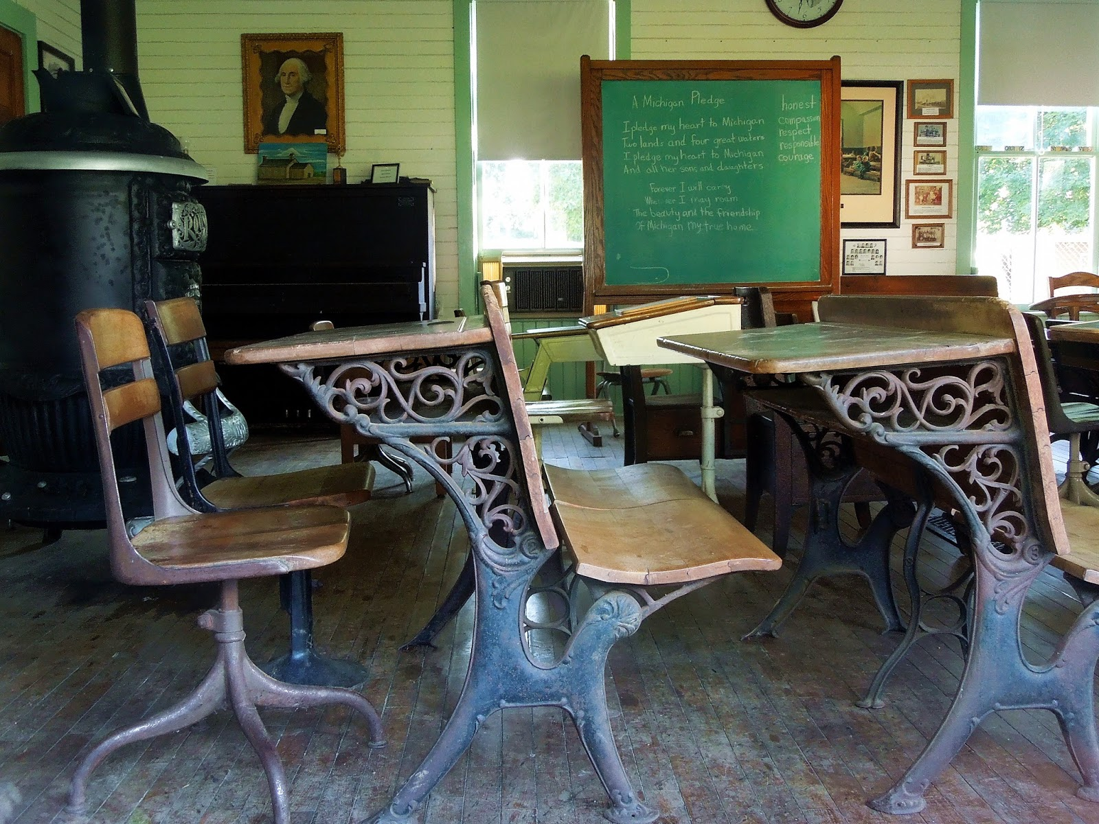 M Bel Marshall michigan one room schoolhouses calhoun county