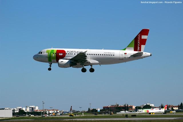 CS-TTO - Airbus A319 - Aeroporto de Lisboa - Antero de Quental