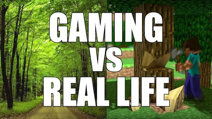 Real world vs Virtual world (think about it)