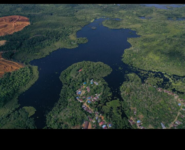 Danau Segelam Desa Tanjung Bunut