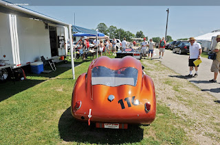 Kellison J2 Coupe from the rear
