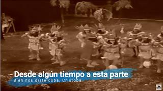"""Pasodoble con Letra """"Desde algún tiempo a esta parte"""". Chirigota """"Bien nos diste coba, Cristoba"""""""