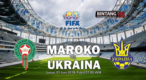 Prediksi Bola Morocco vs Ukraine 01 Jun 2018