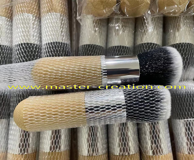 carbonized bamboo brushes