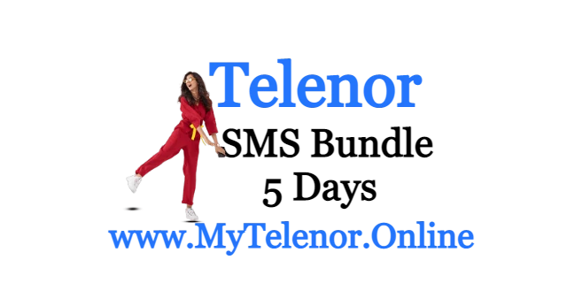 Telenor 5 Day SMS Bundle