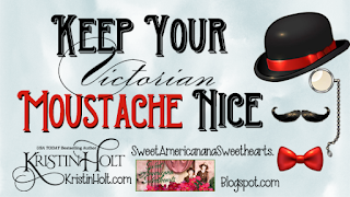 Kristin Holt | Keep Your (Victorian) Moustache Nice!