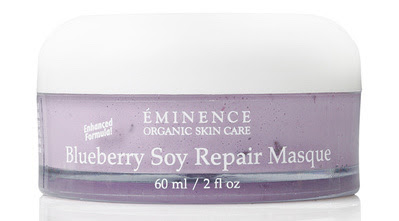 Eminence Blueberry Soy Repair Masque at Le Reve Spa
