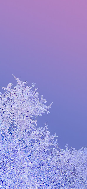 MIUI 11 Snow Wallpaper Full HD+