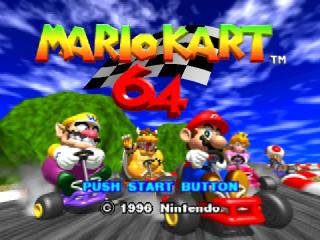 Jogar Super Mario Kart N64 online grátis