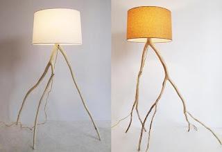 Ramas y lamparas