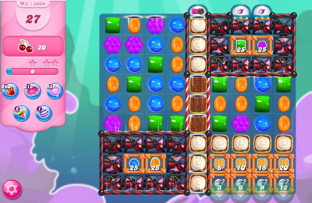 Candy Crush Saga level 8095