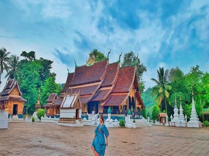 Đắm chìm trong vẻ đẹp và sự tĩnh lặng của thành phố Luang Pra Bang