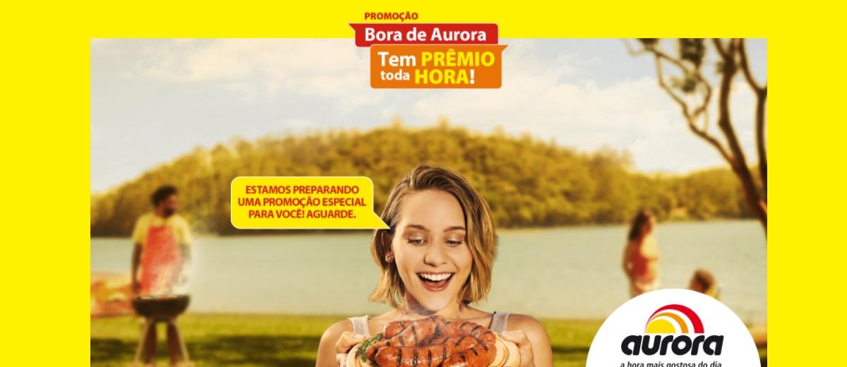 Promoção Aurora Produtos 2021 Bora de Aurora Prêmio Toda Hora - Participar, Cadastrar e Prêmios