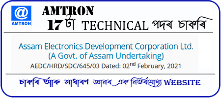 AMTRON IT Specialist and Electrical Staff Recruitment 2021