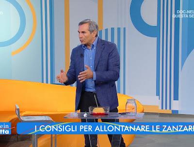 Valerio Rossi Albertini fisico estate in Diretta 22 luglio
