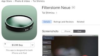 Edit Foto App iOS