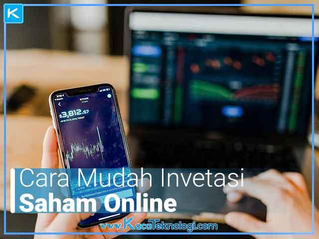 Bagaimana cara investasi saham online dengan mudah untuk pemula dan bagaimana cara bermain saham/trading online dengan modal 100 ribu rupiah dan tentunya gratis.