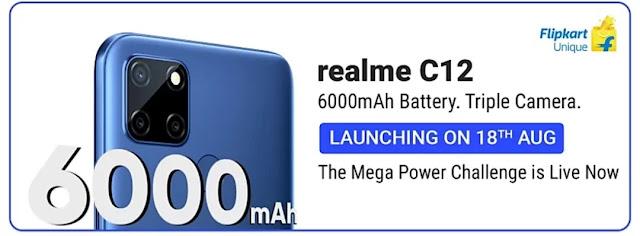 What makes realme C12 A Mega Power Phone ?
