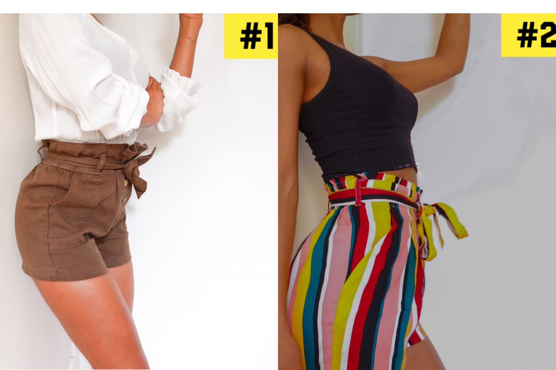 How to style paperbag shorts
