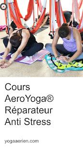 yoga aérien, yoga aérien, yoga aérien, hamac yoga, yoga réparateur, yoga thérapeutique, physiothérapie, ayurvéda, formation de yoga aérien, cours de yoga aérien