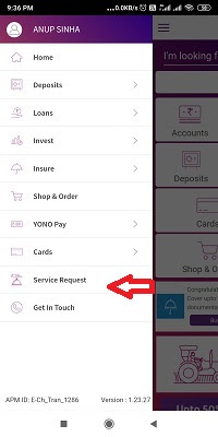 How to activate SBI ATM Card through YONO app?
