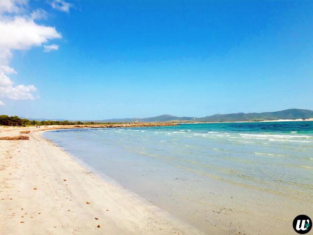 Porto Pino beach, Porto Pino | Sardinia, Italy | wayamaya