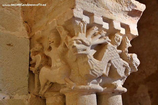 Capitel Iglesia monasterio S. Juan de Duero, Soria