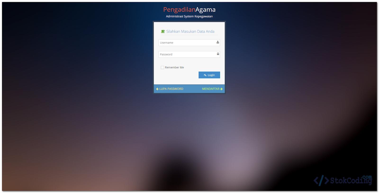 Aplikasi Absensi & Cuti Berbasis Web (PHP)