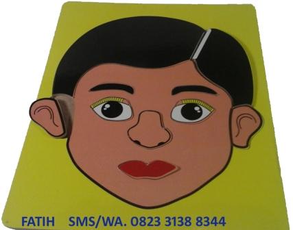Game Puzzle Untuk Anak Wajah Laki-Laki