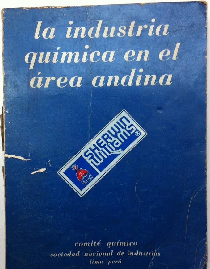 La industria química en el área andina