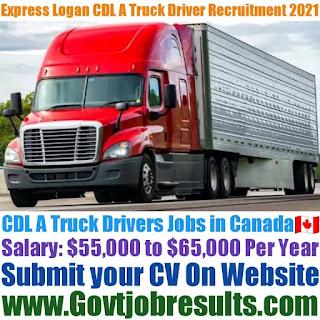 Express Logan CDL A Truck Driver Recruitment 2021-22