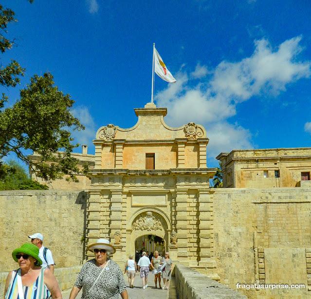 Portão de Mdina, Malta