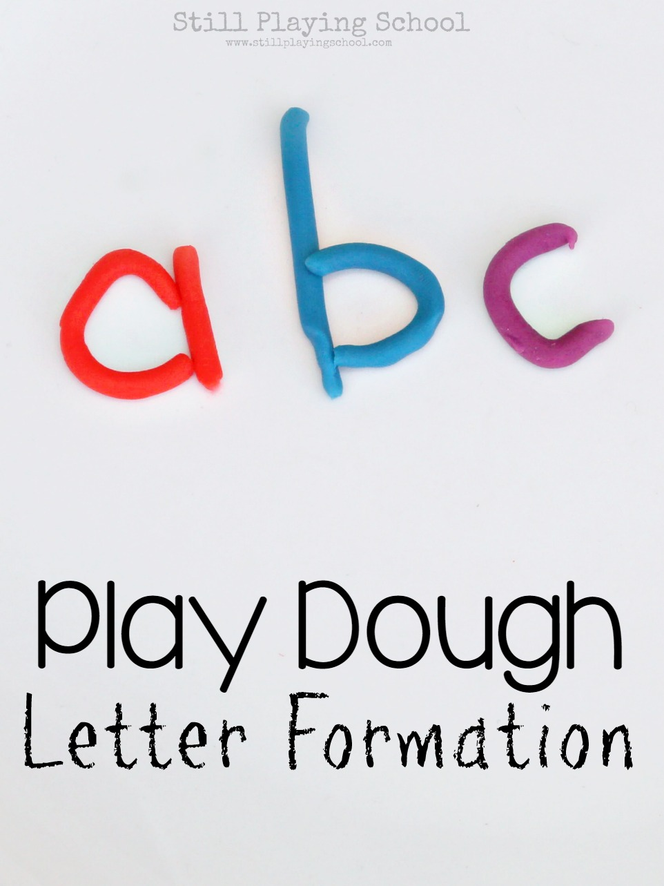 Letter formation with play dough still playing school letter formation with play dough mitanshu Image collections
