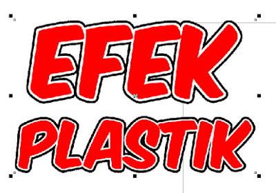 Cara Membuat Efek Plastik Dengan Corel Draw