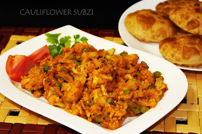 gobi subzi cauliflower subzi roasted cauliflower ayeshas kitchen vegetable side dishes