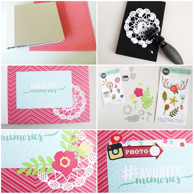 Scrapbooking Mini Album per l'estate