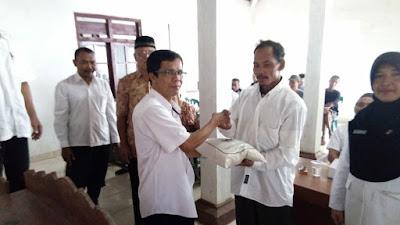 Dinas Ketahanan Pangan Provinsi Jawa Tengah, Berikan Bantuan Ke Desa Sebanyak 1 ton