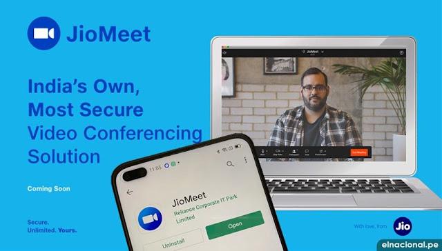 JioMeet vídeo conferencias