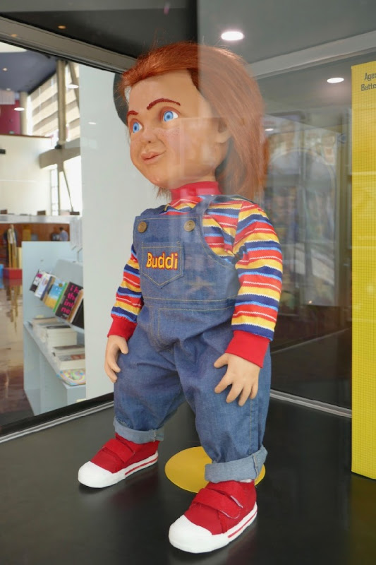 Chucky Buddi doll prop Childs Play