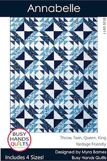 Annabelle Quilt Pattern by Myra Barnes of Busy Hands Quilts