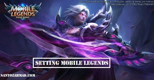 Pengaturan Mobile Legends