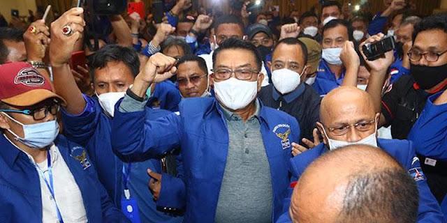 Bagi Orang Dekat SBY, Pertarungan Ideologis Partai Demokrat Adalah Fitnah, Hoax, Dan Karangan Bebas Moeldoko