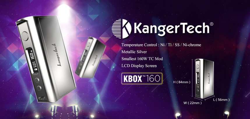 KBOX Mod 160W